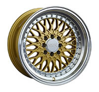 XXR 536 Wheel Rim 15x8 4x100/4x114.3 ET0 73.1mm Hyper Gold / ML