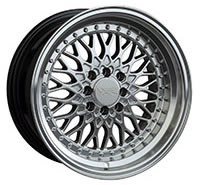 XXR 536 Wheel Rim 15x8 4x100/4x114.3 ET0 73.1mm Hyper Silver / ML