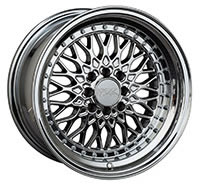XXR 536 Wheel Rim 15x8 4x100/4x114.3 ET0 73.1mm Platinum