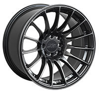 XXR 550 Wheel Rim 15x8 4x100/4x114.3 ET21 73.1mm Chromium Black