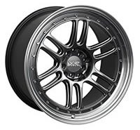 XXR 552 Wheel Rim 18x10 5x100/5x114.3 ET21 73.1mm Chromium Black / ML