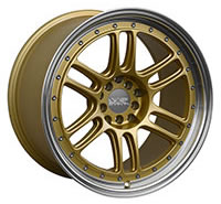 XXR 552 Wheel Rim 18x10 5x100/5x114.3 ET21 73.1mm Gold / ML