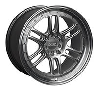 XXR 552 Wheel Rim 18x8.5 5x100/5x114.3 ET21 73.1mm Hyper Silver / ML