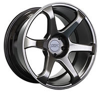XXR 556 Wheel Rim 18x8 5x100 ET42 73.1mm Chromium Black