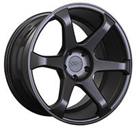 XXR 556 Wheel Rim 18x8 5x100 ET42 73.1mm Flat Black