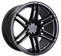 XXR 558 Wheel Rim 18x8.75 5x100/5x114.3 ET19 73.1mm Flat Black