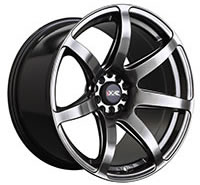 XXR 560 Wheel Rim 18x10 5x100/5x114.3 ET20 73.1mm Chromium Black