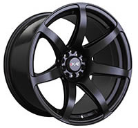 XXR 560 Wheel Rim 18x10 5x100/5x114.3 ET20 73.1mm Flat Black