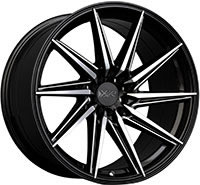 XXR 561 Wheel Rim 18x10 5x100/5x114.3 ET20 73.1mm Machined / Black / Milled