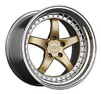 XXR 565 Wheel Rim 18x10.5 5x114.3 ET20 73.1mm Hyper Gold / Platinum Lip