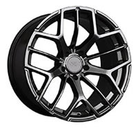 XXR 566 Wheel Rim 18x10 5x114.3 ET20 73.1mm Chromium Black