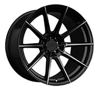 XXR 567 Wheel Rim 18x10.5 5x100/5x114.3 ET20 73.1mm Phantom Black