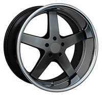 XXR 968 Wheel Rim 17x10 5x114.3 ET20 73.1mm Chromium Black / SSC