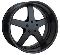 XXR 968 Wheel Rim 17x10 5x114.3 ET20 73.1mm Flat Black